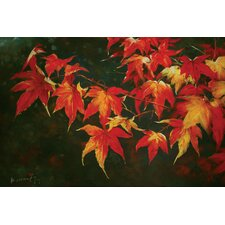 "<strong>Hokku Designs</strong> Autumn Oil Painting on Canvas Art - 24"" x 36"""
