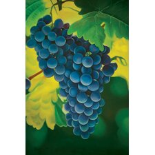 "<strong>Hokku Designs</strong> Grapes Oil Painting on Canvas Art - 36"" x 24"""