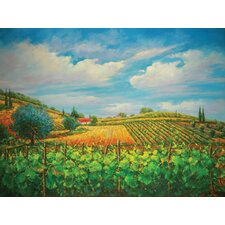 "Summer in Napple Oil Painting on Canvas Art - 36"" x 48"""