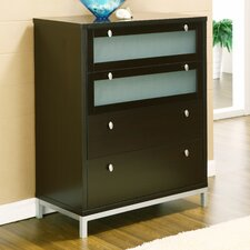 Grove Modern 4 Drawer Chest