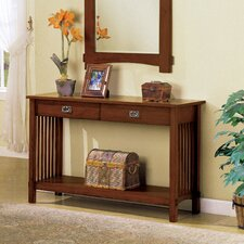 Valencia Console Table and Mirror Set
