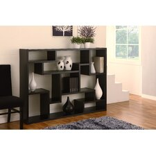 Deangelo Display Stand/Bookcase/Room Divider in Black