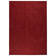 <strong>Hokku Designs</strong> Maze Red Rug