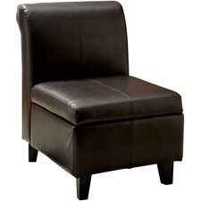 Jordan Leatherette Slipper Chair