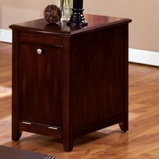 Hurst Storage Cabinet End Table
