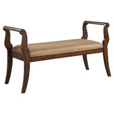 <strong>Hokku Designs</strong> Swansea Wood Bench
