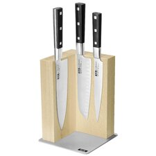 Profession Magnetic 4 Piece Knife Block Set