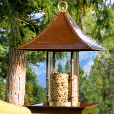 Bamboo Gazebo Bird Feeder