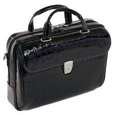Monterosso Ignoto Leather Laptop Briefcase