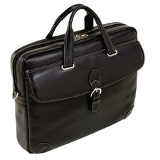 Vernazza Borella Leather Laptop Briefcase