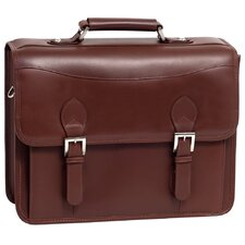 Manarola Belvedere Leather Laptop Briefcase