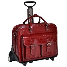 Monterosso San Martino Leather Laptop Catalog Case