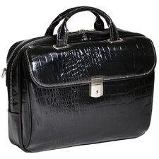 Monterosso Settembre Leather Laptop Briefcase