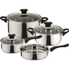 Veracruz Stainless Steel 7-Piece Cookware Set