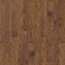 "Sutton's Mountain 5""  Engineered Hickory Flooring in Burnt Barnboard"