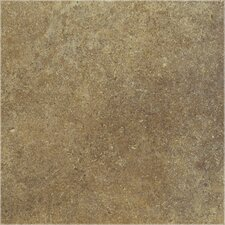 "<strong>Shaw Floors</strong> Brushstone 18"" x 18"" Porcelain Tile in Adobe"