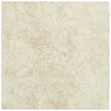 "Piazza 20"" x 20"" Ceramic Tile in Ivory"