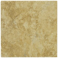 "Piazza 6.5"" x 6.5"" Ceramic Tile in Gold"