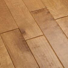 "<strong>Shaw Floors</strong> Whistler 5"" Engineered Hardwood Birch Flooring in Snow Shoe"