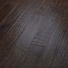 "<strong>Shaw Floors</strong> Country Club 5"" Engineered Handscraped Maple Flooring in Bonfire"