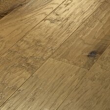 "<strong>Shaw Floors</strong> Epic Pebble Hill 5"" Engineered Hickory Flooring in Prairie Dust"