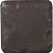 "Heritage 2"" x 2"" Insert Tile Accent in Rust"