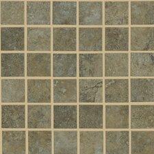 Lunar Mosaic Tile Accent in Beige