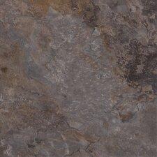 """Calcutta 16"""" X 16"""" Vinyl Tile in Earl Grey"""