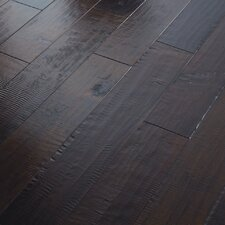 "Autumn Ridge 5"" Engineered Handscraped Maple Flooring in Ember"