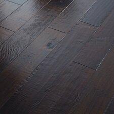 "Autumn Ridge 5"" Engineered Handscraped Maple Flooring in Ember"