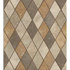 "<strong>Shaw Floors</strong> Soho Rhomboid 12"" x 12"" Tile Accent in Multi-color"