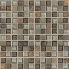 Mixed Up Mosaic Slate Accent Tile in Pikes Peak