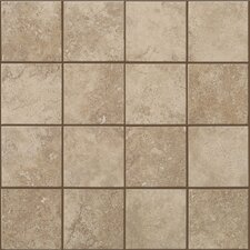 "<strong>Shaw Floors</strong> Soho 12"" x 12"" Mosaic Tile Accent in Gascogne Beige"