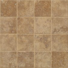 "Soho 12"" x 12"" Mosaic Tile Accent in Walnut"