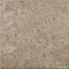 "Mission Bay 17"" x 17"" Floor Tile in Coastal Ivory"