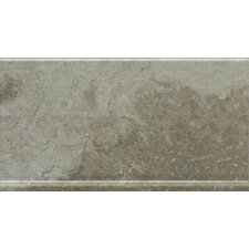 "Metropolitan Slate 12"" x 6"" Cove Base Tile Trim in Luna Park"