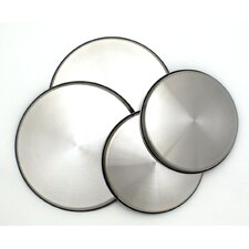 <strong>Range Kleen</strong> Stainless Steel Burner Kovers 4 Piece Set