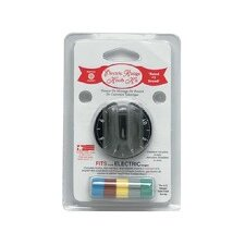 Electric Range and Oven Replacement Knob Kit in Black