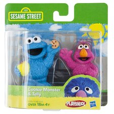 Sesame Street Figures Assorted (Set of 2)