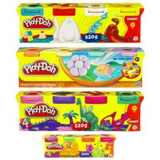 <strong>Hasbro</strong> 6 Oz Play-Doh Modeling Clay (Set of 4)