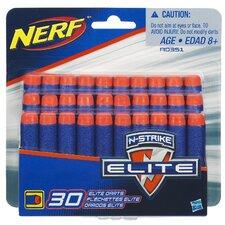 30 Count Nerf-N-Strike Elite Dart Refill Pack