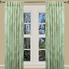 Fanfare Back-Tab Curtain Single Panel