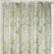 Cabbage Shower Curtain and Valance Set