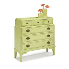 <strong>HeatherBrooke Furniture</strong> Pistachio Pudding 6 Drawer Accent Chest