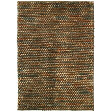 Caillou Brown / Multi Pebble Shag Rug