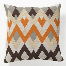 Global Bazaar Bijou Echo Linen Throw Pillow