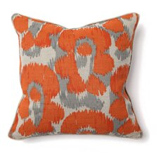 African Mod Jaguar Print Throw Pillow