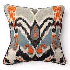 African Mod Keke Ikat Print Pillow