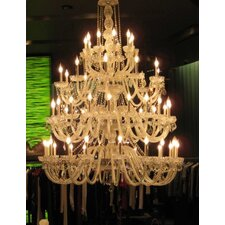 54 Light Candle Chandelier