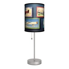 Transportation Airplanes Table Lamp